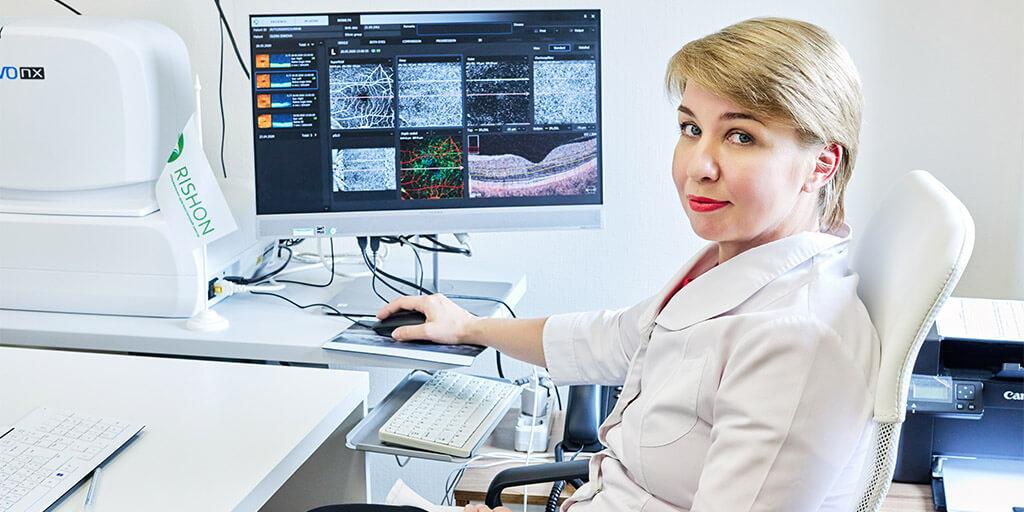Огляд офтальмолога