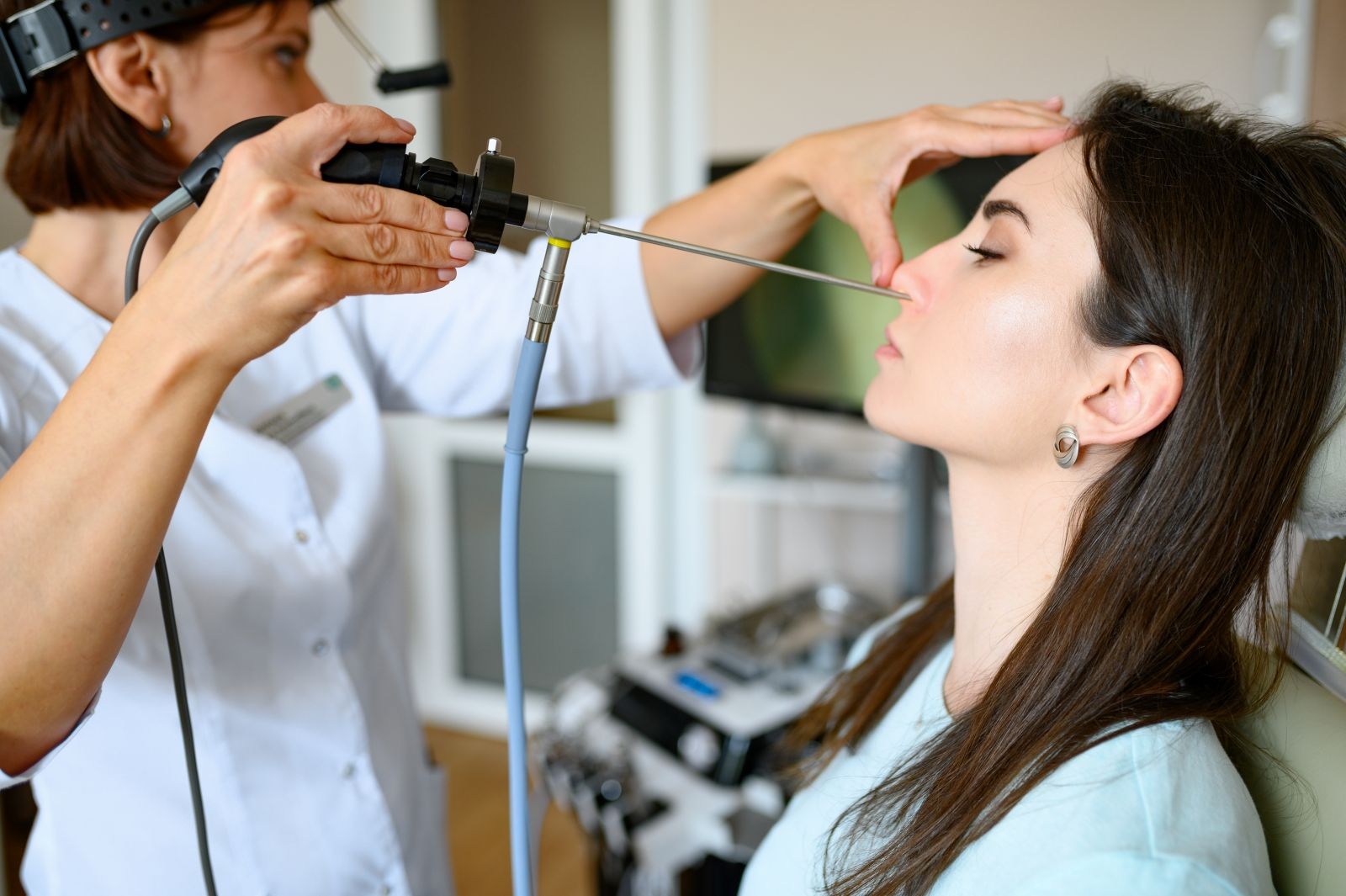 Лікування закладеності носа в Рішон