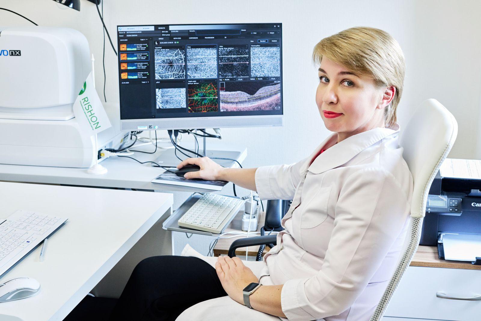 Консультація офтальмолога спец пропозиція